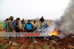 Syrian Government Helicopter Downed In Northwest Syria